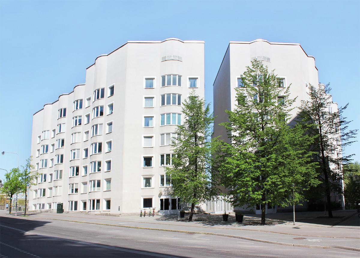 Fastigheten Klamparen 9 på Scheelegatan 38-40 och Pipersgatan 45 på Kungsholmen.