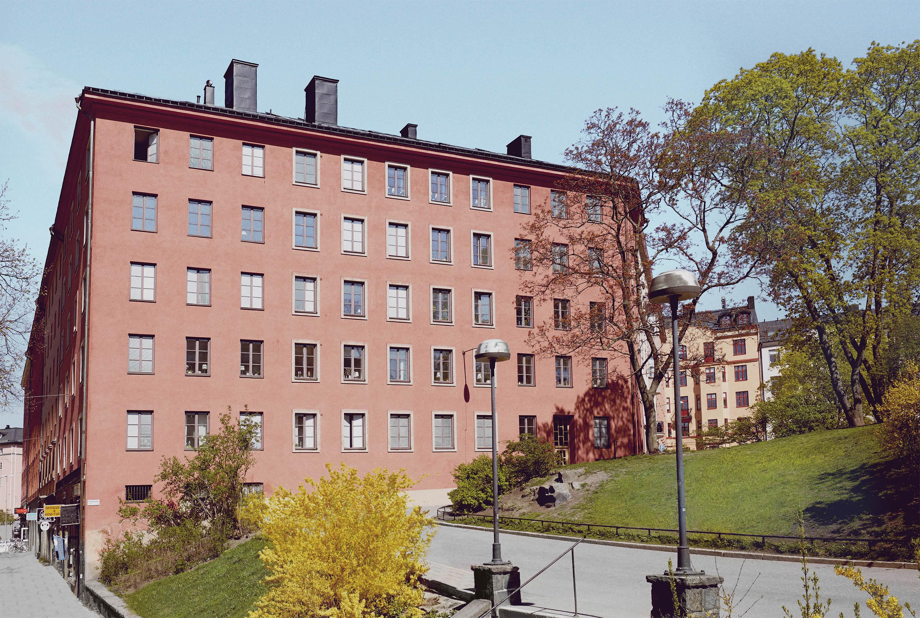 Fastigheten Valand 13 på Hälsingehöjden 7 och St Eriksgatan 102 i Vasastan.